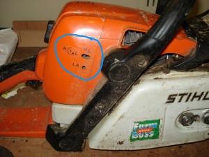 Carburator Adjustment Screws