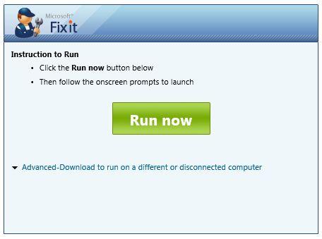 Mr Fixit Microsoft