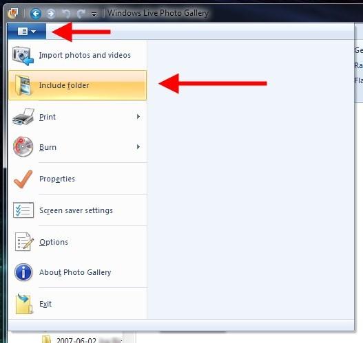 Include a folder