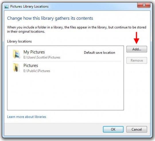 Add your folder
