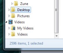 Desktop is there!