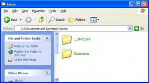 Green Folders in XP