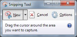 Snipping Tool - New