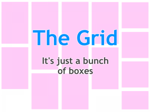 The Almighty Grid!