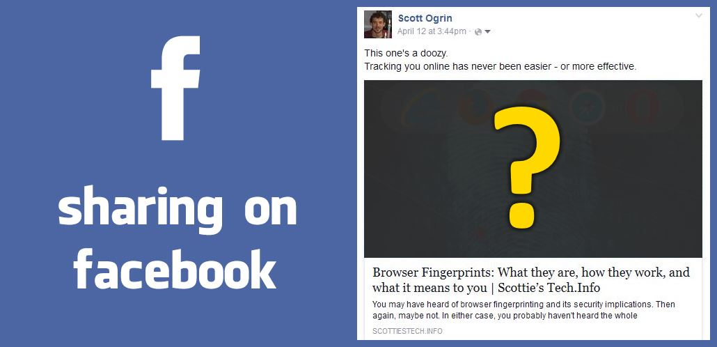 I shared a link on Facebook, but no image shows up | Scottie's Tech Info