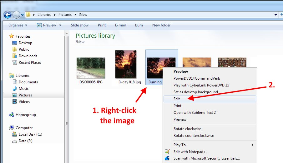 How to Easily Resize and Crop a Single Image in Windows