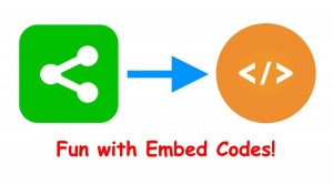 Embed Codes