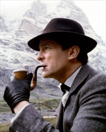 Jeremy Brett as Sherlock Holmes, © Granada Television