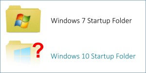 Where is the Windows 10 Startup Folder?