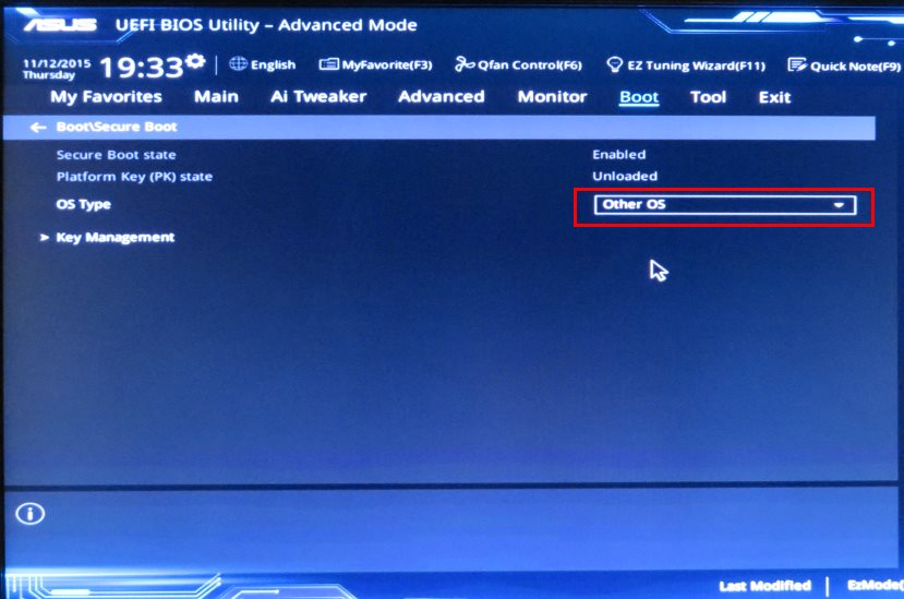 Updating motherboard bios without os