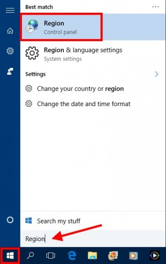 Set Windows Language, Step 7