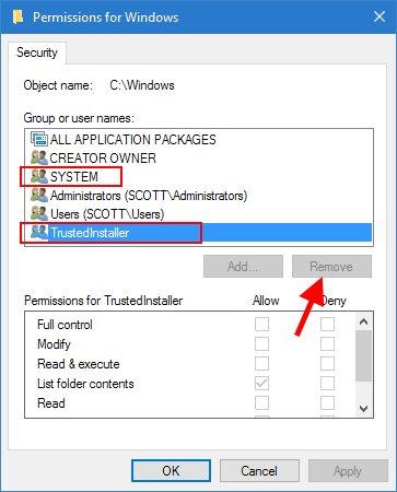 Delete an old Windows folder the easy way | Scottie's Tech Info