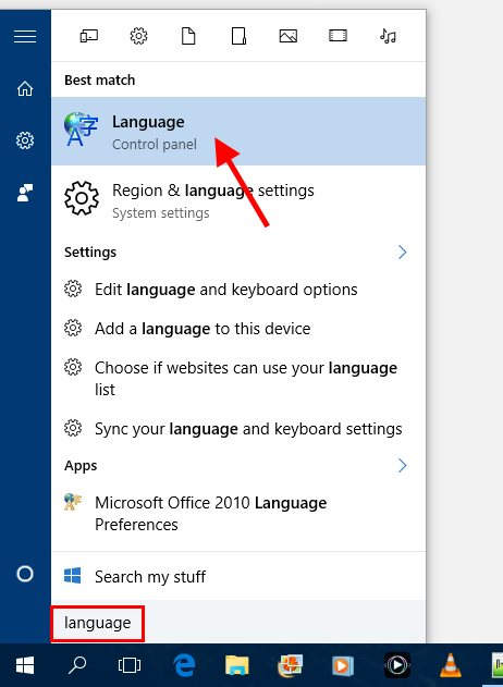Fix Language Bar missing after Windows 10 update | Scottie's