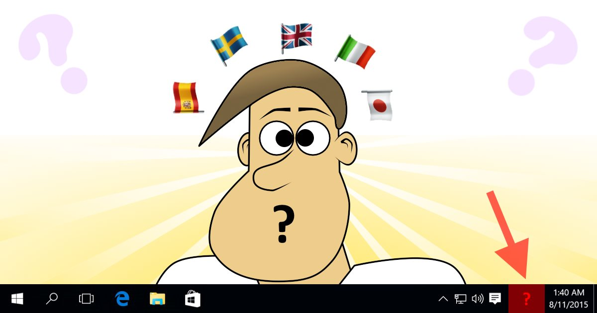 Fix Language Bar missing after Windows 10 update | Scottie's