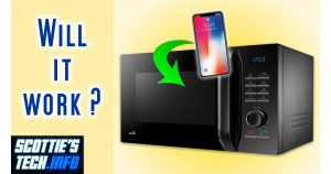 Microwave oven as Faraday cage?
