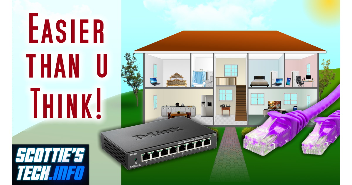 No more WiFi: How to wire your house for Internet ... Wiring Home With Ethernet on