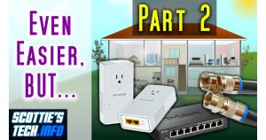 Powerline Networking and MoCA adapters for home networking