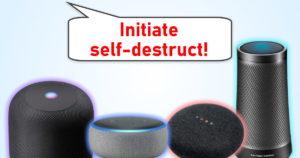 Home Assistant Self-Destruct