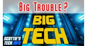 Big Tech is in Big Trouble!