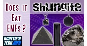 Does Shungite absorb 5G?