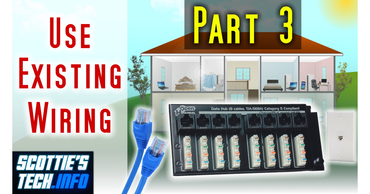 No more WiFi, Part 3: All about existing house wiring