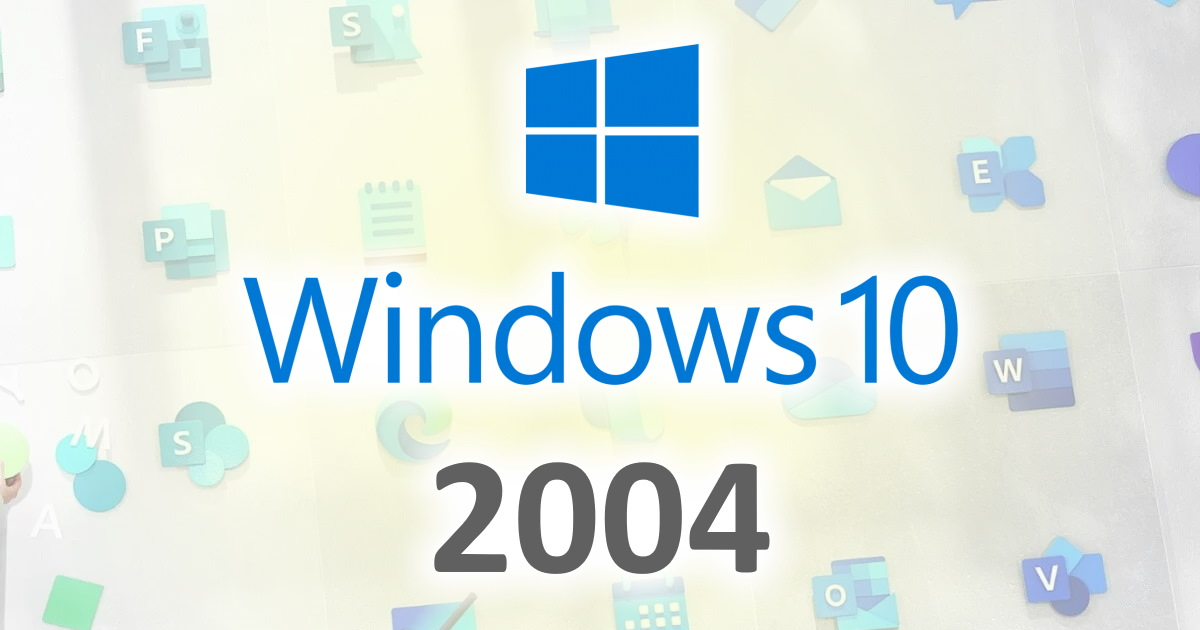 Windows 10 2004 Update: More new stuff, and more of the same