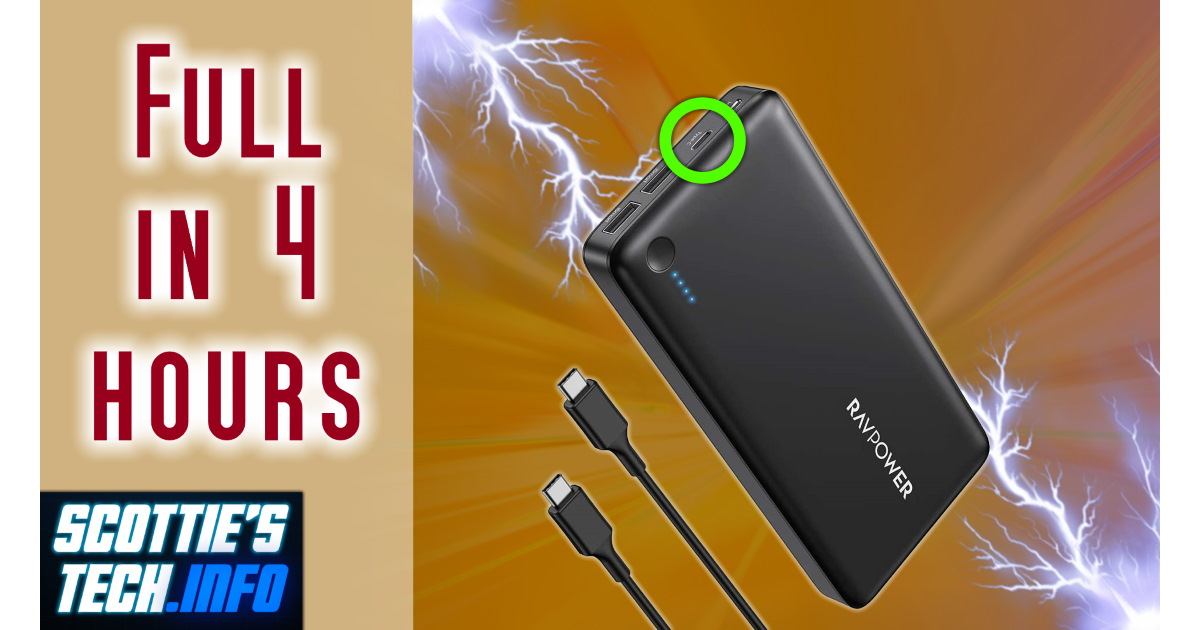 FAST Power Bank: No more 2-day recharge times!