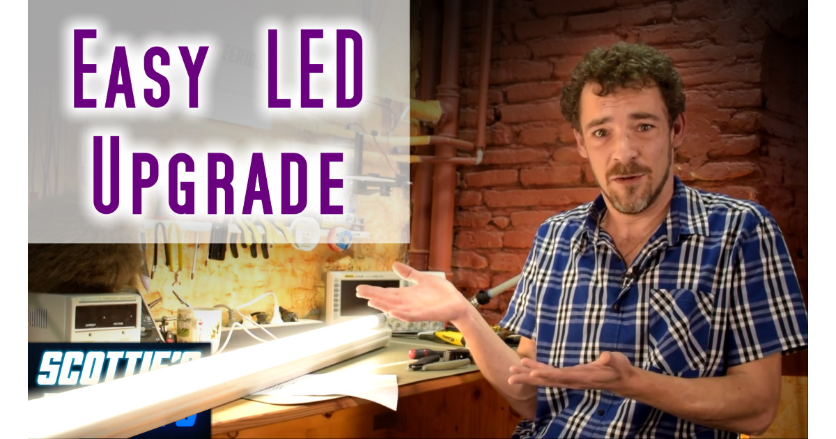 Fluorescent to LED conversion made easy!