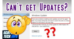 Fix Windows can't update
