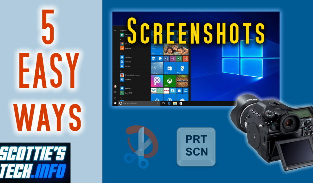 Taking screenshots is easier than you think