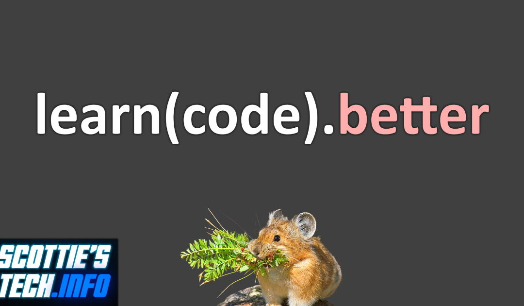 How to learn to code (or anything else)