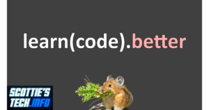 Learn to Code - or whatever else you want to do!