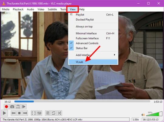 VLC subtitles Step 4