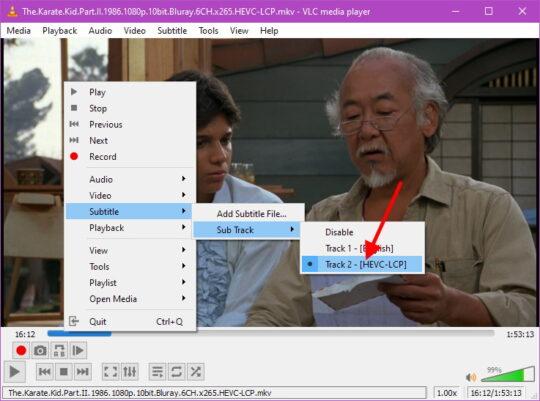VLC subtitles Step 6