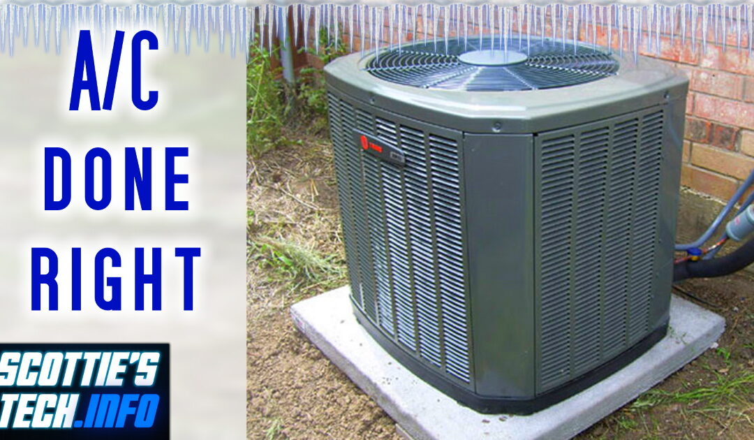 You're using your A/C WRONG!