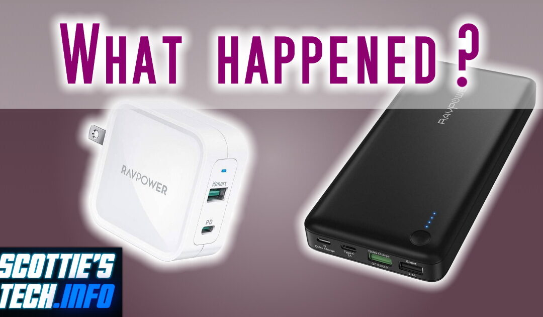 What happened to RAVPower? Well, it's nuts…