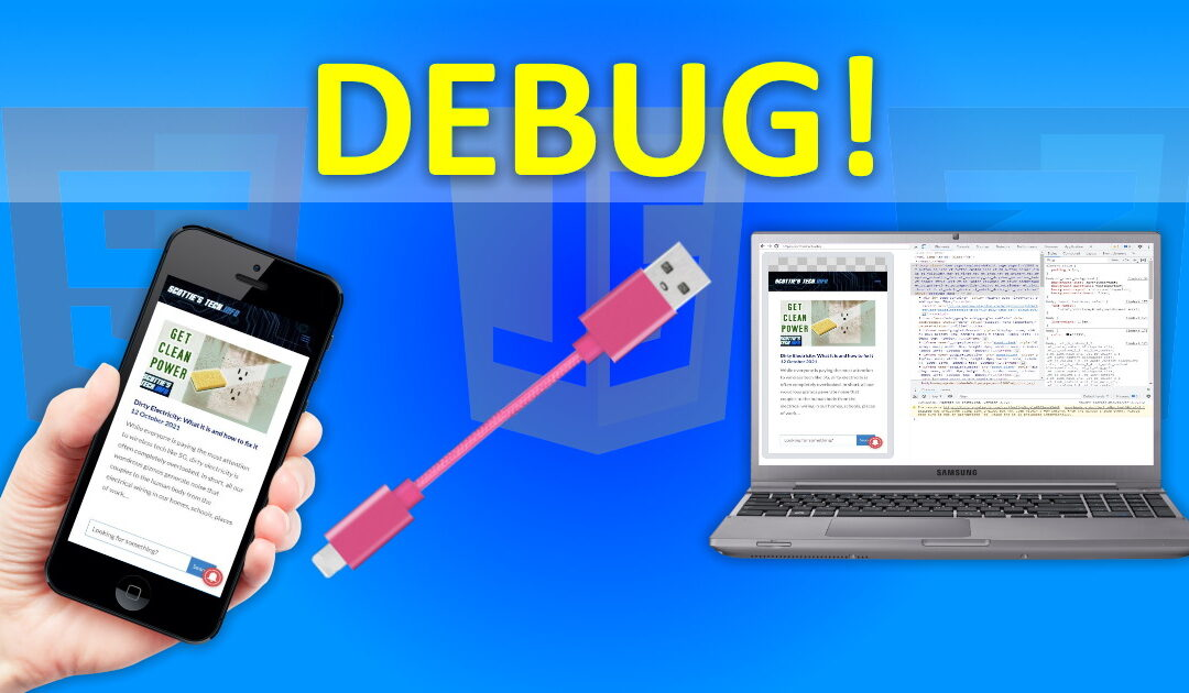 How to Debug web sites on Mobile Devices